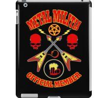 Metal Militia Colour 2 iPad Case/Skin