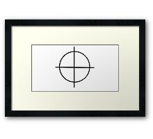 Zodiac Sign Framed Print