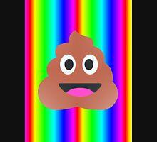 rainbow poop emoji Unisex T-Shirt