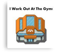 Pokemon Gym Canvas Print