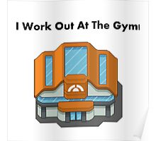 Pokemon Gym Poster