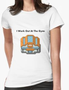 Pokemon Gym Womens Fitted T-Shirt