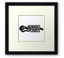Doctor Who - Memories Become Stories Framed Print