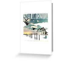coheed and cambria the color before the sun Greeting Card