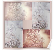 Light Vintage Dream. Square Polyptych Poster