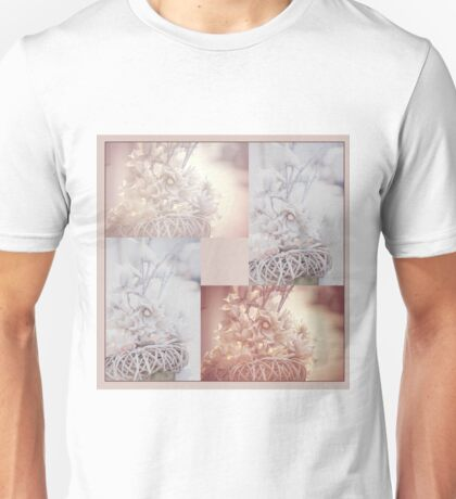 Light Vintage Dream. Square Polyptych Unisex T-Shirt