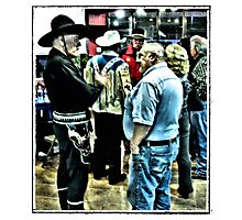 """""""Cowboys 'N' Friends""""... prints and products Photographic Print"""