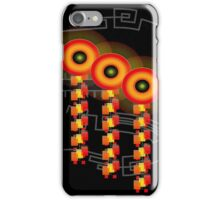 Lollipops and Train Tracks iPhone Case/Skin