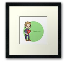 You can do it!  Framed Print