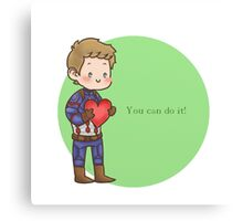 You can do it!  Canvas Print