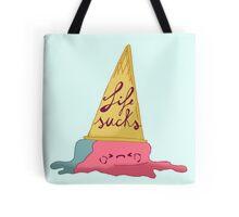 life sucks - ice cream Tote Bag