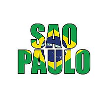 Sao Paulo. Photographic Print