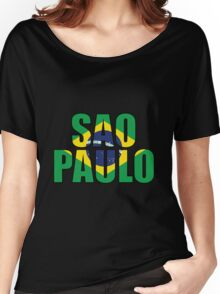 Sao Paulo. Women's Relaxed Fit T-Shirt