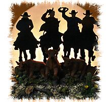 """""""EVENING ROUNDUP""""... prints and products Photographic Print"""