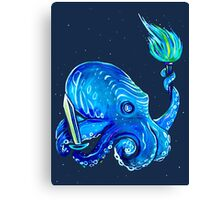 RPG Octopus Canvas Print