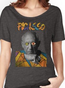 Picasso Photograph (Modern Art Style) Women's Relaxed Fit T-Shirt