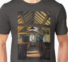 Church of St Olaf, Wasdale head. Interior. Unisex T-Shirt