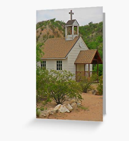 Unique Church Greeting Card
