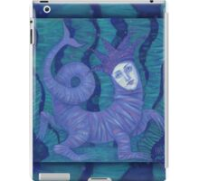 """Melusine"", pastel painting, fantasy art iPad Case/Skin"