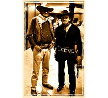 """""""Buckaroo Look-A-Likes""""... prints and products Photographic Print"""