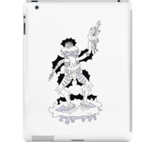 Ziang Zong in his slippers  iPad Case/Skin