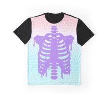 Pastel Ribcage Graphic T-Shirt