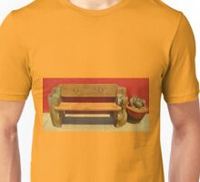Beautiful Bench Still Life Unisex T-Shirt
