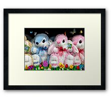 OH! Here Come The KIDS!! Please Buy ME!!! Take Me Home With You!  Framed Print