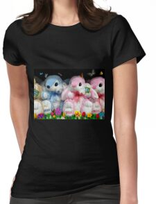 OH! Here Come The KIDS!! Please Buy ME!!! Take Me Home With You!  Womens Fitted T-Shirt