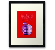 The Lunar Chronicles - Winter Framed Print