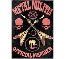 Metal Militia Vintage Photographic Print