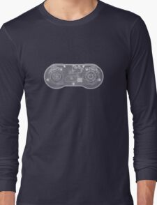 Super Nintendo SNES Controller - X-Ray Long Sleeve T-Shirt