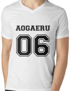 Spirited Away - Aogaeru Varsity Mens V-Neck T-Shirt