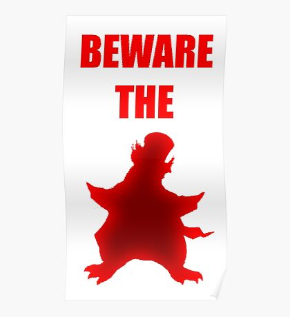Beware the Penguin Poster