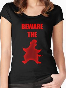 Beware the Penguin Women's Fitted Scoop T-Shirt