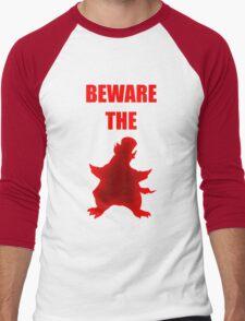 Beware the Penguin Men's Baseball ¾ T-Shirt