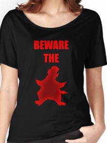 Beware the Penguin Women's Relaxed Fit T-Shirt