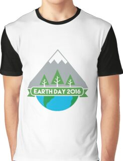 Earth Day 2016 Graphic T-Shirt