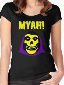 Skeletor-Misfits Composite Women's Fitted Scoop T-Shirt