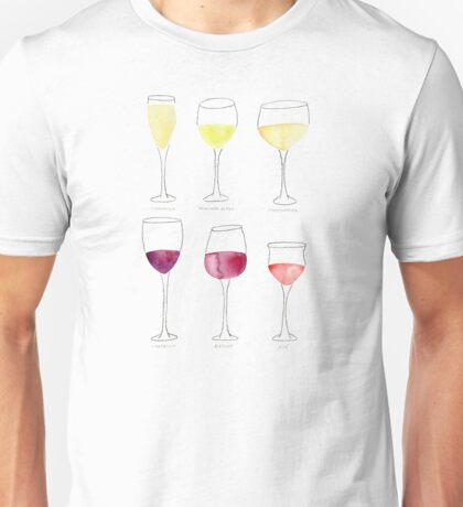 Wine Collection Unisex T-Shirt