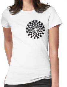 Yin and Brick Womens Fitted T-Shirt