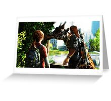 The Last Of Us Greeting Card