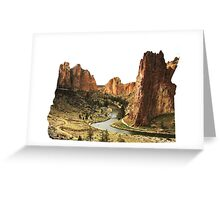 OR- Smith Rocks Greeting Card
