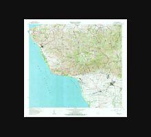 USGS TOPO Map Puerto Rico PR Rincon 362235 1966 20000 Unisex T-Shirt