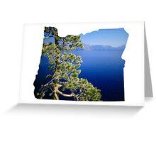 OR- Crater Lake Greeting Card