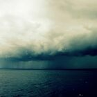 On The  Horizon A Storm Is Brewing by Evita