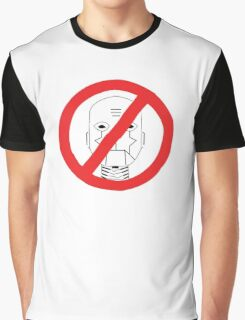Robots Outlawed Graphic T-Shirt