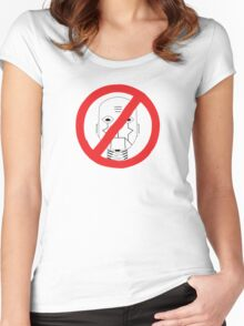 Robots Outlawed Women's Fitted Scoop T-Shirt