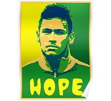Neymar Hope Poster