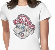 Mario Bros Womens Fitted T-Shirt